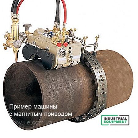 Машины резки труб на магнитной ленте.