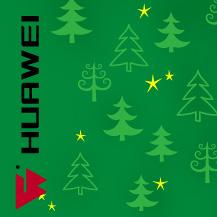 С Рождеством - Huawei - механизация сварки