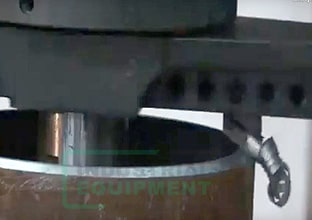 Режущая часть машины для создания фаски на трубе