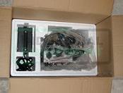 Фото упаковки сварочного трактора - пенопласт 1й ярус