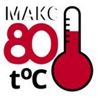Температура обработки не более 80 °C
